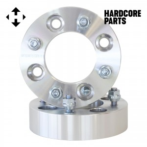 "2 QTY ATV Wheel Spacers 3"" (1.5 inch Per Side) fits all 4x110 bolt patterns - Honda Yamaha Grizzly Rhino Wolverine Big Bear Kodiak Rancher Foreman TRX250 Recon TRX 250EX TRX300 400 300EX YFM 450 600 660 700"