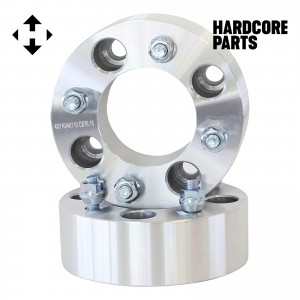 "2 QTY ATV Wheel Spacers 2"" 4x110 bolt patterns - Compatible with Honda Yamaha Grizzly Rhino Wolverine Big Bear Kodiak Rancher Foreman TRX250 Recon TRX 250EX TRX300 400 300EX YFM 450 600 660 700"