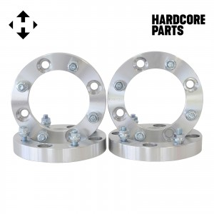 """4 QTY 1"""" 4x110 to 4x137 ATV Wheel Spacer Adapters Center Bore: 74mm Stud: 10x1.25"""