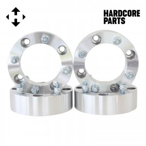 "4 QTY ATV Wheel Spacers 2"" fits all 4x137 bolt patterns - Compatible with CAN-AM Bombardier Renegade Outlander Commander Kawasaki Mule Prairie Brute Force Bayou 4x137"