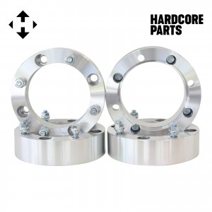 "4 QTY ATV Wheel Spacers 4"" (2 inch Per Side) fits all 4x156 bolt patterns - Yamaha Polaris Ranger Sportsman RZR Predator YFM660 YFM700 Raptor Banshee"