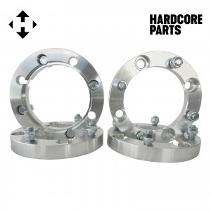 """4 QTY 1"""" 4x137 to 4x156 ATV Wheel Spacer Adapters Center Bore 110mm, Stud 12x1.5"""
