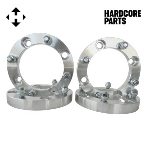 "4 QTY ATV Wheel Spacers 1"" 4x156 bolt patterns with 12x1.5 threads (same style lug nuts as automotive spacers) Polaris Ranger RZR XP 1000 Trail 900 XC High Performance S Ranger Ace"