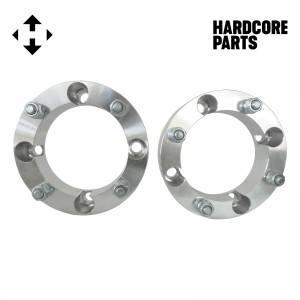 "2 QTY ATV Wheel Spacers 2"" 4x156 bolt patterns with 12x1.5 threads (same style lug nuts as automotive spacers) Polaris Ranger RZR XP 1000 Trail 900 XC High Performance S Ranger Ace"