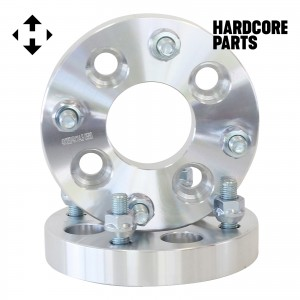 """2 QTY 1"""" Inch 4x108 to 4x100 Wheel Spacer Adapters Center Bore 78.1mm Stud 12x1.5"""