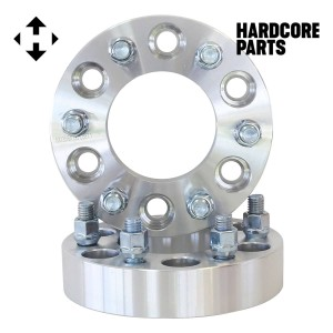 """2 QTY Wheel Spacers Adapters 1.5"""" fits all 6x135 vehicle to 6x135 wheel patterns with 14x2 threads"""
