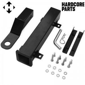 Universal Golf Cart Rear Trailer Hitch - Compatible with EZGO Club Car Yamaha & More
