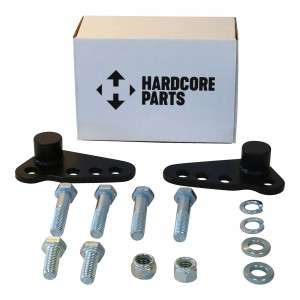 "1"" to 3"" Adjustable Rear Slam Lowering Kit - Harley Davidson Touring Electra Glide Ultra Road King Street 2002-2015"