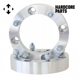 "2 QTY ATV Wheel Spacers 3"" (1.5 inch Per Side) for 4x156 bolt patterns - Fits Yamaha Polaris Ranger Sportsman RZR Predator YFM660 YFM700 Raptor Banshee"