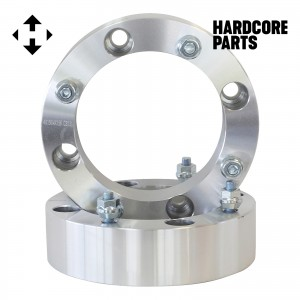 "2 QTY ATV Wheel Spacers 4"" (2 inch Per Side) fits all 4x156 bolt patterns - Yamaha Polaris Ranger Sportsman RZR Predator YFM660 YFM700 Raptor Banshee"