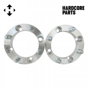 """2 QTY ATV Wheel Spacers 1.5"""" 4x156 bolt patterns with 12x1.5 threads (same style lug nuts as automotive spacers) Polaris Ranger RZR XP 1000 Trail 900 XC High Performance S Ranger Ace"""