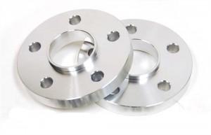 4 QTY 20mm 5x4.75 (5x120) Hub Centric Wheel Spacer Kit / Chrome Bolts Fits BMW