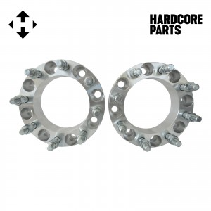 "2 QTY Wheel Spacers Adapters 2"" fits all 8x170 vehicle to 8x170 wheel patterns with 14x1.5 threads"