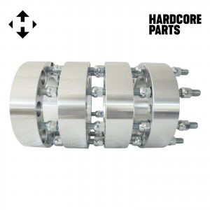 "4 QTY Wheel Spacers Adapters 2"" fits all 8x170 vehicle to 8x170 wheel patterns with 14x1.5 threads"