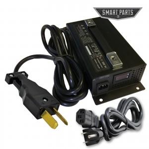 High Performance 36V 18 Amp Golf Cart Battery Charger - Fits Club Car Yamaha EZGO LED Display, 36 Volt Fast Charge