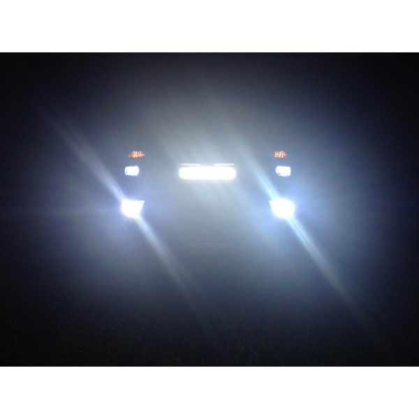 20 cree led light bar 126w flood spot combo 20 inch fog mozeypictures Image collections