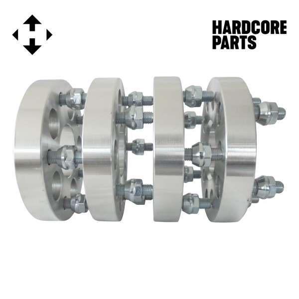 """2"""" (1"""" per side) Wheel Spacers Adapters M12 x 1.5 threads ..."""